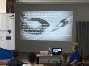Drogprevenciós előadás és klubfoglalkozások - Bükkösd - 2019.08.29. #1