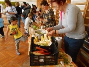 Kisgyermekes családok részére egészséges táplálkozást bemutató program - Nagydobsza - 2019.04.16. #1